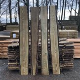 Waney-Edge Fence Boards