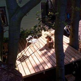 Decking for Tanalised timber decking